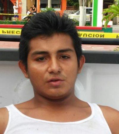 Por coraje al descubrir mensajes eróticos de su pareja con otro, el asesinato de un policía en Cozumel