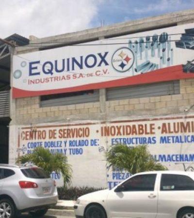 Investigan robo a mano armada de $250 mil a empresa en Cancún