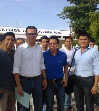 ¿SECUELAS DEL PROCESO ELECTORAL?: Reclaman estudiantes atraso en el pago de becas en Chetumal