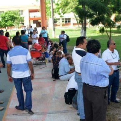 Piden la cabeza de directora del ITCH; cumplen 4 días de 'brazos caídos' en Chetumal