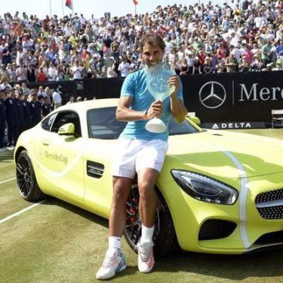 NADAL ESTÁ DE REGRESO: Gana el tenista español torneo de Stuttgart, su primer triunfo en hierba desde el 2010
