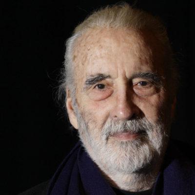 A los 93 años, fallece el actor Christopher Lee, famoso por sus interpretaciones de Drácula y Saruman
