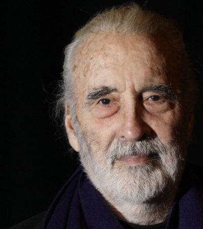 A los 93 años, fallece el actor Christopher Lee, famoso por sus interpretaciones de Drácula y Saruman