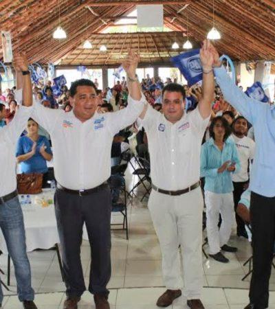 Cierra campaña Mahmud Chnaid con total apoyo de chetumaleños