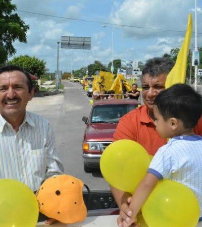 Con broche de oro, Domingo Flota cerró campaña en Bacalar y confía en su triunfo el 7 de junio