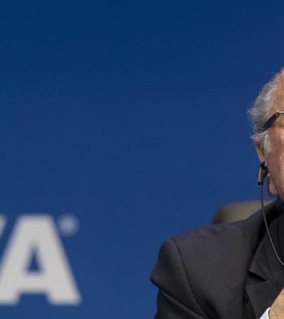 """""""LA FIFA NECESITA UNA PROFUNDA REESTRUCTURACIÓN"""": Joseph Blatter anuncia su renuncia y convoca a elecciones en la cúpula del futbol mundial"""