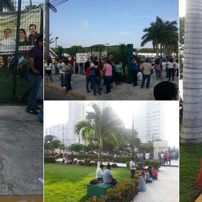 SE SUMAN MAESTROS AL PARO NACIONAL: Dejan las aulas en QR para protestar contra la reforma educativa y la evaluación docente