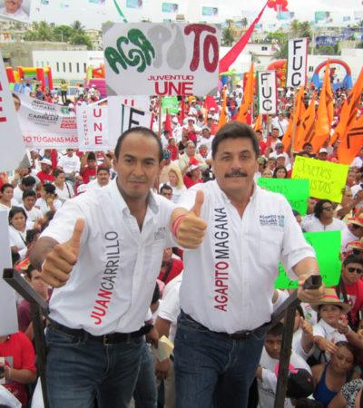 Rompeolas: Agapito, de alcalde a coordinador de campaña de Juanito