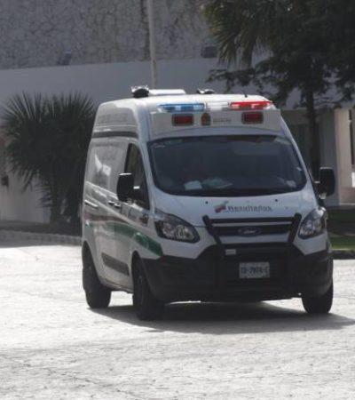 Se ahoga un hombre en el fraccionamiento Lagos del Sol en Cancún