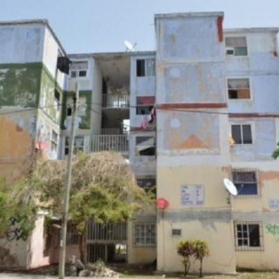 Desmienten eventual desalojo de vecinos del fraccionamiento Corales, pese a riesgo de derrumbe en edificios