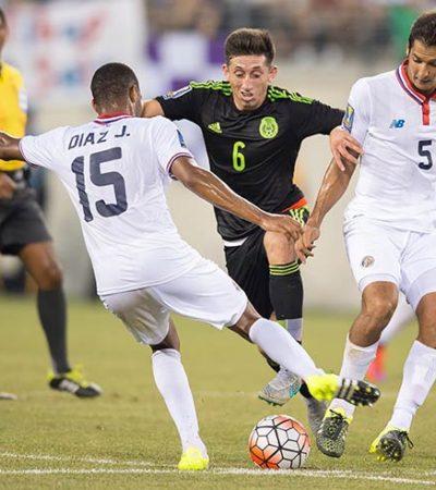 ÁRBITRO AL RESCATE: Con un cuestionado penal, México vence 1-0 a Costa Rica y avanza a semifinales de la Copa de Oro