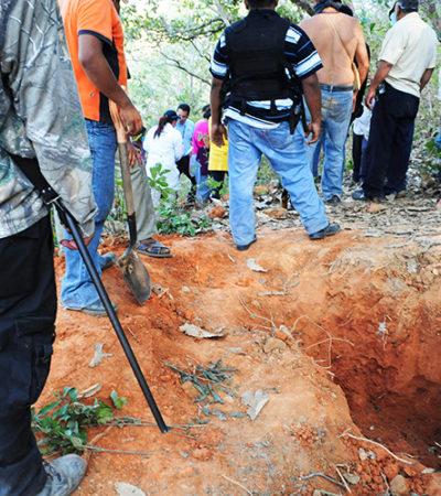 Hallan en 8 meses en Iguala 60 fosas clandestinas con 129 cadáveres, pero no a 43 normalistas