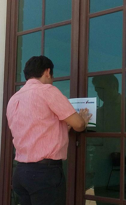 CLAUSURAN UNIVERSIDAD 'PATITO': Después de 2 años de operar de forma irregular, la SEyC cierra la Universidad Vizcaya