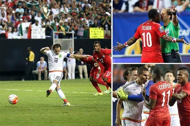 MÉXICO AVERGÜENZA HASTA EN FUTBOL: Avanza el Tri a la final de la Copa de Oro tras vencer a Panamá con 2 penales inexistentes