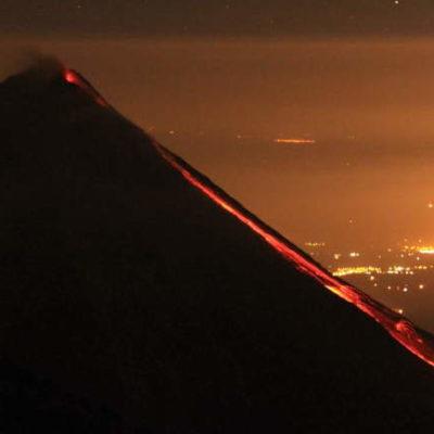 Emite Segob declaratoria de emergencia en municipios de Colima por erupción de volcán