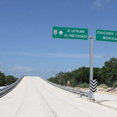 Retrasa ICA construcción de puentes viales en Playa del Carmen