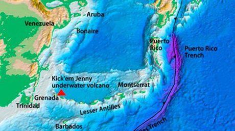 ALERTA NARANJA POR VOLCÁN SUBMARINO: Descartan en Venezuela posible tsunami en el Caribe, pese a advertencia de oleaje alto
