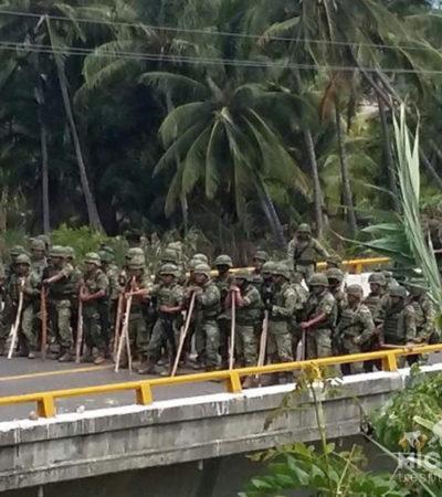 CORRE SANGRE EN AQUILA: Enfrentamiento entre civiles y militares deja saldo de un niño muerto y 4 heridos