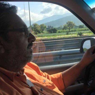 Confirman fallecimiento de periodista Armando Navarrete y familiares en el accidente del auto calcinado en carretera Mérida-Cancún
