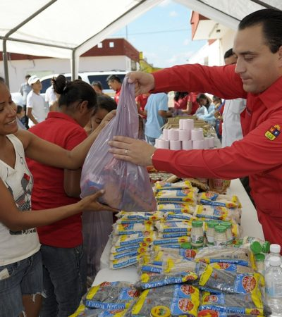 """""""EL BALANCE ES POSITIVO"""": Presume Borge reducción de la pobreza en QR; ahora 'sólo' hay 35.9% de pobres y eso es 'satisfactorio', dice Gobernador"""