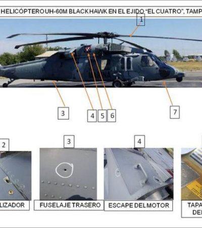 LES SALE CARO EL ATREVIMIENTO: Mueren 6 civiles en ataque a helicóptero de la Marina en Tamaulipas
