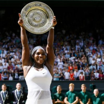 WILLIAMS HACE HISTORIA EN LONDRES: Con título en Wimbledon, gana su segundo 'Serena Slam'