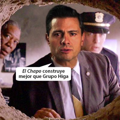 EL RIDÍCULO MUNDIAL DE PEÑA NIETO: La insólita fuga de 'El Chapo' Guzmán en memes