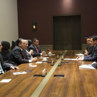 SELLAN FRONTERA SUR POR 'EL CHAPO': Acuerdan Gobernadores con Osorio Chong reforzar seguridad en el sur de México