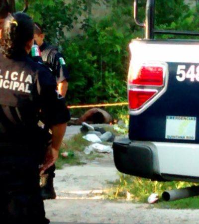 AMANECE CANCÚN CON OTRO EJECUTADO: Hallan a un hombre baleado por las avenidas Colegios y Huayacán