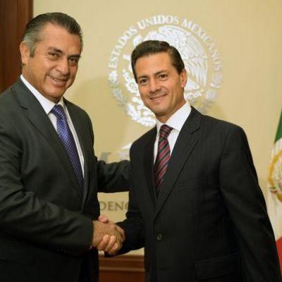 PARA SER 'BRONCO', SE VIO MANSITO: Recibe Peña Nieto a Jaime Rodríguez Calderón en Los Pinos