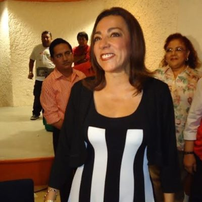 SE 'DESTAPA' LA PRIMERA MUJER: Dice Cora Amalia que ella también quiere ser gobernadora de QR