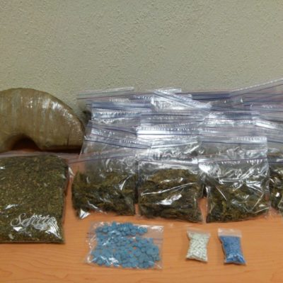 CARGADO DE DROGAS: Detienen en Playa a 'tirador' independiente con más de 3 kilos de marihuana y casi 400 dosis de psicotrópicos