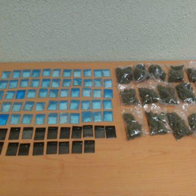 Caen 2 'tiradores' de Cártel del Golfo en Playa con 90 dosis de droga