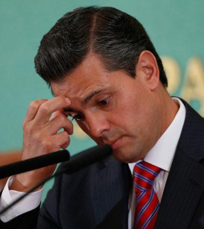PEÑA, EL 'CHAPUCERO': Dice NYT que el Presidente mexicano será recordado por eludir rendición de cuentas y minimizar escándalos