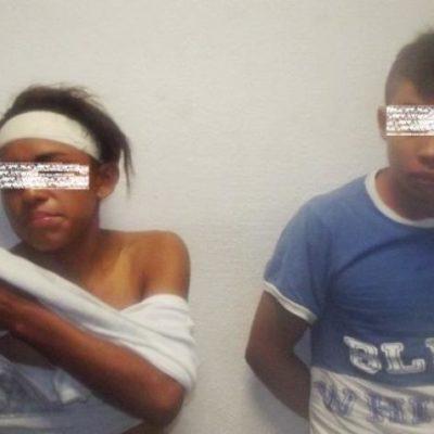 Con armas, detienen a par de adolescentes dedicados al asalto en Chetumal