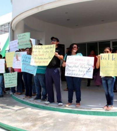 Descontarán un día de salario a maestros que se ausentaron por protestas contra la reforma educativa