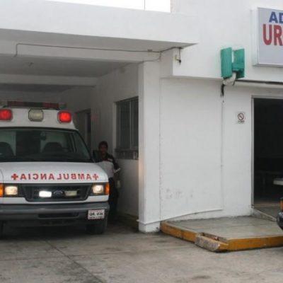 Con un pedazo de vidrio, un adolescente de 15 años intenta suicidarse en Chetumal