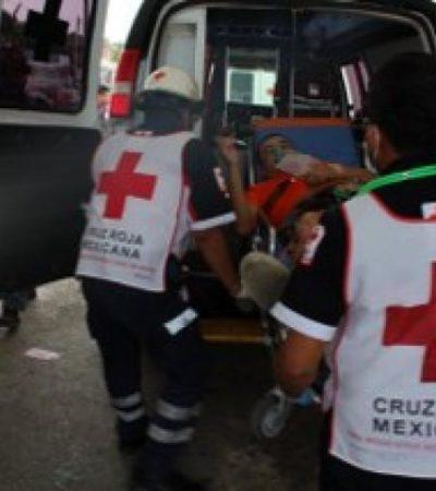 FALLIDA EJECUCIÓN EN CANCÚN: A balazos, tratan de matar a un hombre en cuartería de la SM 69