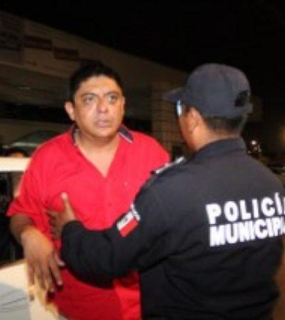 Detienen en retén del alcoholímetro a supuestros integrantes del 'Cártel de Michoacán' tras cometer robo en Cancún