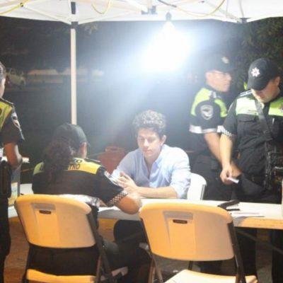 Atoran en el alcoholímetro de Cancún a diputado plurinominal del PVEM en QR; actuario quiso 'charolear'