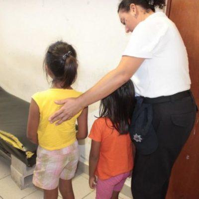 Rescatan a 2 niñas que permanecían encerradas, sin comida ni ir a la escuela, en la Región 220 de Cancún