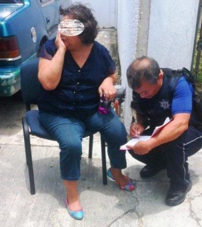 INSEGURIDAD EN CHETUMAL: Asaltan y agreden a una mujer para despojarla de $30 mil al salir de banco