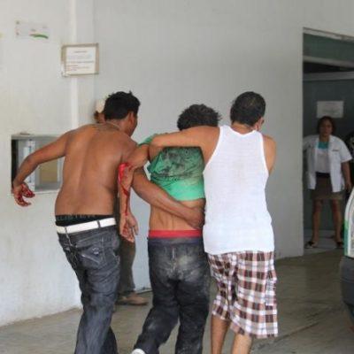 ZAFARRANCHO DE VÁNDALOS EN FCP: 3 heridos, 13 detenidos y daños materiales, el saldo de enfrentamiento entre grupos rivales