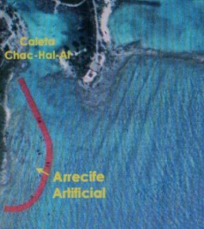 Rechaza Semarnat proyecto de arrecife artificial en la Caleta Chac-Hal-Al de Puerto Aventuras