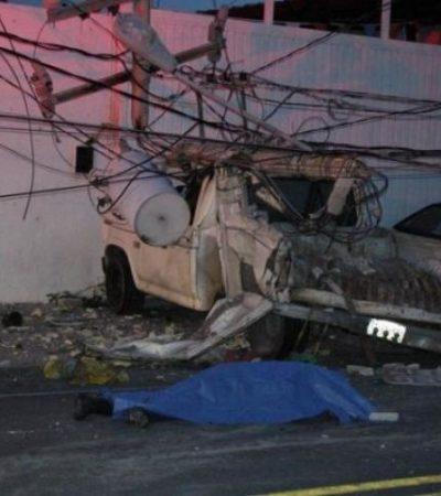 SALIÓ A TRABAJAR EN DOMINGO: Identifican al peatón atropellado en la Avenida Talleres de Cancún