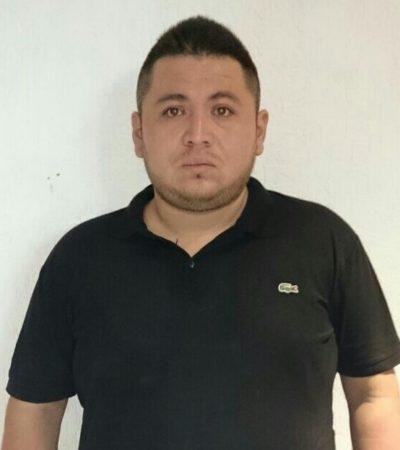 Con pistola y marihuana, detienen en colonia irregular de Cancún a presunto integrante del CDG