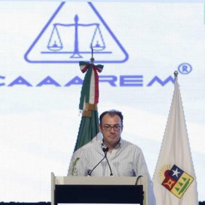 Anuncia Videgaray en Cancún inversión de más de 9 mil mdp para modernizar aduanas