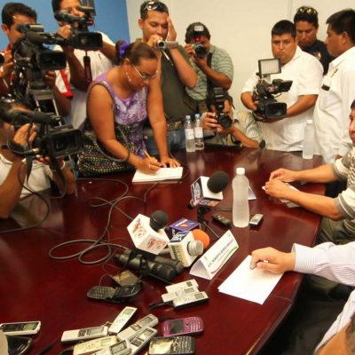 """""""PRETENDEN LEGALIZAR CONTROL PIRAMIDAL"""": Impugnan periodistas iniciativa borgista para someter libertades y derechos en QR"""