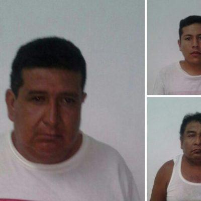 Detienen a 3 presuntos delincuentes en Cuna Maya; 2 están relacionados con asalto a autobús de ADO