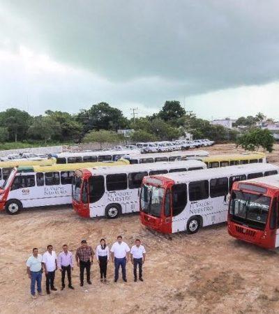 Entra Jet Van al quite en el transporte urbano de Chetumal